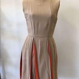 Dresses & Skirts - 1960s/1970s Peek-a-boo Pleated Dress